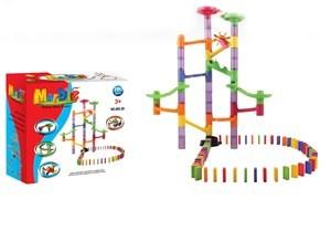 Imagen de Dominó con blocks y bolitas, 100 piezas, en caja