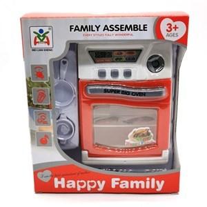 Imagen de Cocina con horno, accesorios, luz y sonido, 3AA, en caja