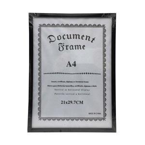Imagen de Marco para diploma A4, marco liso, 2 colores