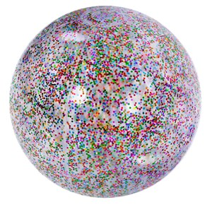 Imagen de Inflable pelota con brillantina, en bolsa, Jilong
