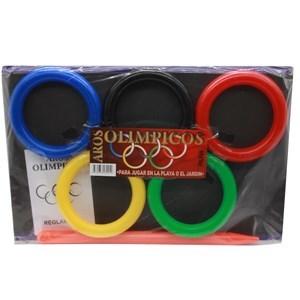 Imagen de Aros olímpicos, para embocar, en bolsa