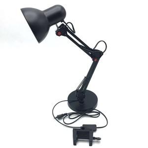 Imagen de Lámpara de escritorio articulada, con base y morsa, cable 160cm, en caja, 2 colores