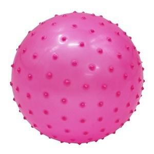 Imagen de Pelota de goma para ejercicio, 18cm, con pinchos, varios colores