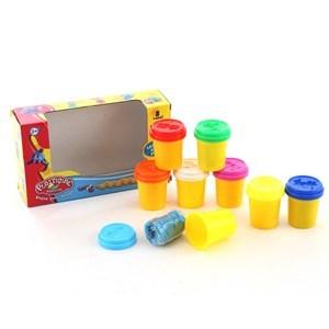 Imagen de Masa para modelar, x8, tapas con moldes, en caja