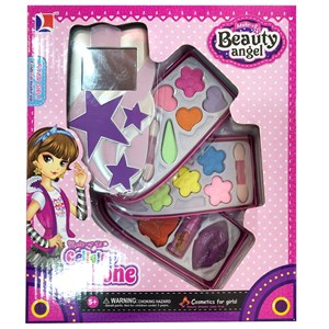 Imagen de Maquillaje infantil, petaca cuádruple, en caja, Beauty Angel autorizado MSP