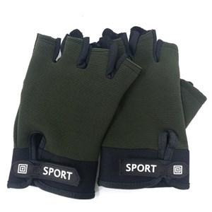 Imagen de Guantes para ejercicio, ajustables, superficie antideslizante, en bolsa