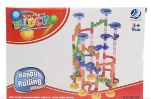 Imagen de Blocks 105 piezas, para armar laberinto, con bolita, en caja.