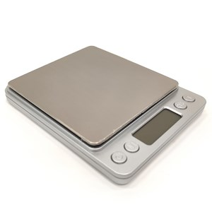 Imagen de Balanza digital de precisión, 2AA, 0.1g a 3000g, en caja