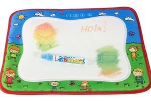 Imagen de Pizarra de tela con marcador de agua, en bolsa