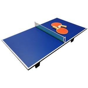 Imagen de Mesa de mini pong, para mesa, de MDF, con red, paletas y pelotas, en caja