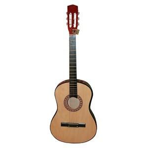 Imagen de Guitarra de madera clásica, grande, en caja