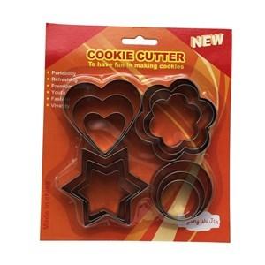 Imagen de Cortante de metal para galletitas x12, en blister
