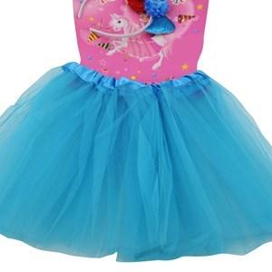 Imagen de Pollera con tiara de sirena, en bolsa