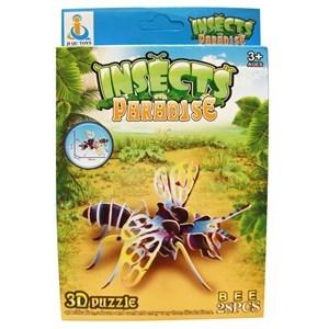 Imagen de Puzzle 3D insectos, en caja