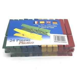 Imagen de Palillos de plástico x24, 8cm, en bolsa