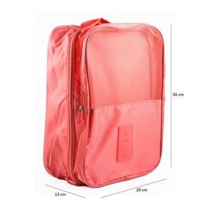 Imagen de Neceser para viaje, con 2 cierres, 2 compartimientos, 2 bolsillos, varios colores