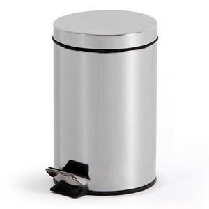 Imagen de Papelera de metal 5L con pedal, en caja