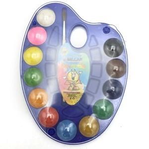 Imagen de Acuarelas x12 colores, paleta de plástico, con pincel