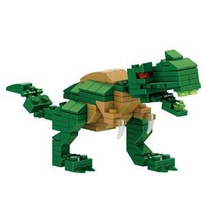 Imagen de Blocks 40 piezas mini, dinosaurio en huevo, CAJA x6