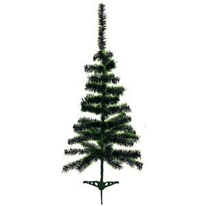 Imagen de Arbol navideño bicolor, 60 piezas, 90cm, pie de plástico