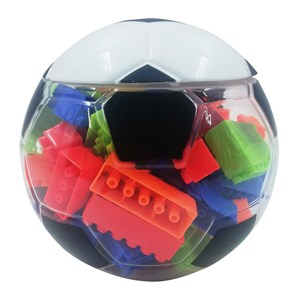 Imagen de Blocks, 95 piezas en pelota de plástico, en red