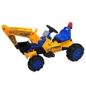 Imagen de Máquina de construcción, pala retroexcavadora, a batería, con luz y sonido, en caja