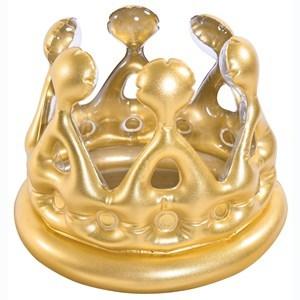 Imagen de Corona inflable, dorada, en caja, Jilong