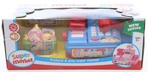 Imagen de Caja registradora, con luz y sonido, con accesorios, 2AA, en caja