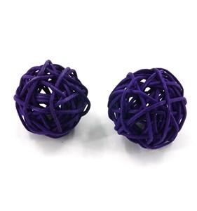 Imagen de Adorno, bola decorativa x2, en bolsa, varios colores