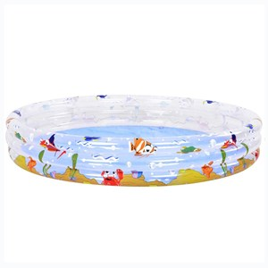 Imagen de Piscina inflable Jilong 3 aros, 1000 litros, con diseño, en caja