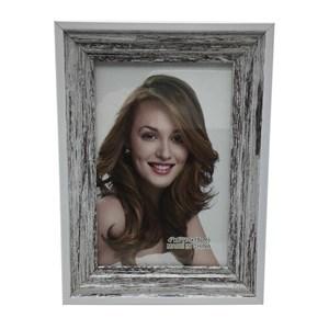 Imagen de Portarretrato, marco de madera, foto 10x15, 2 colores