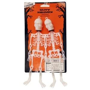 Imagen de Esqueleto x2, para colgar, en cartón
