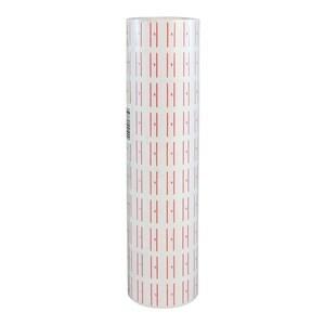 Imagen de Etiqueta borde rojo x600, CAJA x10 tubos