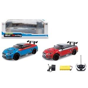 Imagen de Auto con control remoto, con luz, suspensión, escala 1:10, 6+2AA, en caja, 2 colores