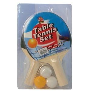 Imagen de Paletas de ping pong con 3 pelotas, en blister