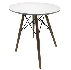 Imagen de Mesa redonda, estilo Eames, madera laqueada