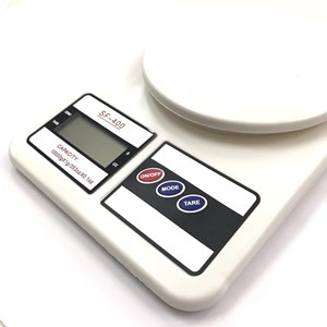 Imagen de Balanza de cocina electrónica, hasta 10K, 2AA, en caja