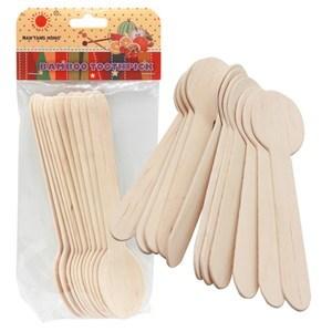 Imagen de Cuchara de bambú x10, PACK x20