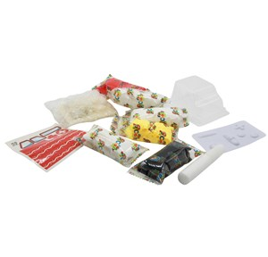 Imagen de Masa para modelar x6, con accesorios, en caja