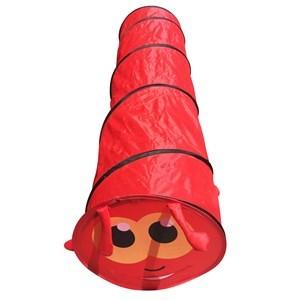 Imagen de Túnel de PVC, plegable, con diseño de gusano, 2 colores, en bolsa de PVC