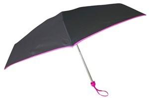 Imagen de Paraguas corto de bolsillo, 6 varillas de aluminio, con protección UV
