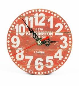 Imagen de Reloj de mesa de madera, con soporte, varios diseños, en caja