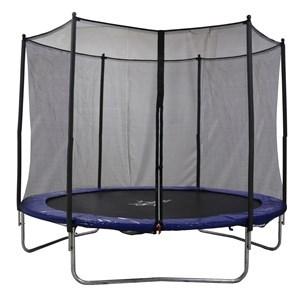 Imagen de Cama elástica AirZone, 305cm, estructura de acero galvanizado, alfombra acolchada de 15mm de espesor, red de protección de polietileno resistente a rayos UV