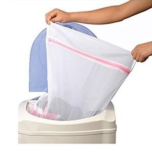 Imagen de Bolsa para lavar ropa, con cierre, pack x12