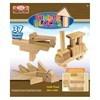 Imagen de Blocks 37 piezas de madera, ALEX