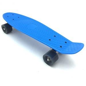 Imagen de Skate de plástico penny, ruedas de PVC anchas, trucks de metal, varios colores