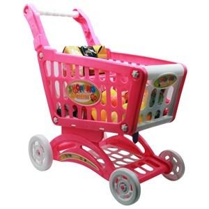 Imagen de Carrito de supermercado, con accesorios, en caja