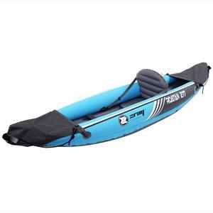 Imagen de Inflable kayak canoa 1 asiento, con remo e inflador manual, en caja