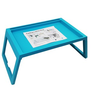 Imagen de Bandeja de cama, de plástico, con patas plegables, varios colores