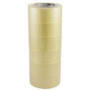 Imagen de Cinta de empaque Matpack 100ys x45mm, PACK x6 rollos, transparente
